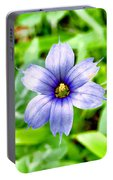 Dainty Blue Portable Battery Charger