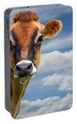 Dairy Cow  Bessy Portable Battery Charger