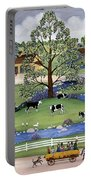 Dairy Farm Portable Battery Charger