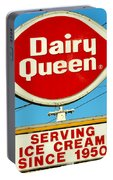 Dairy Queen Sign Portable Battery Charger