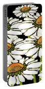Daisies In The Dark Portable Battery Charger