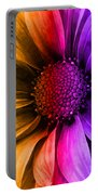 Daisy Daisy Yellow To Purple Portable Battery Charger