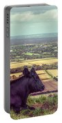 Daisy Enjoys The View From Truleigh Hill Portable Battery Charger