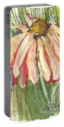 Daisy Girl Portable Battery Charger by Sherry Harradence