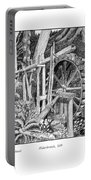 Water Wheel Alderbrook Hood Canal W A Portable Battery Charger