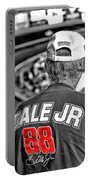 Dale Jr Portable Battery Charger by Karol Livote
