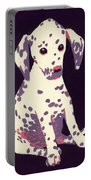 Dalmatian Puppy Portable Battery Charger
