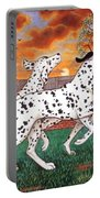 Dalmatians Three Portable Battery Charger