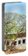 Damaged Colonial Buildings Portable Battery Charger by Jess Kraft