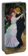 Dance At Bougival Renoir Portable Battery Charger