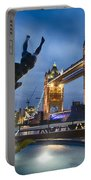 Dance At The Tower Portable Battery Charger