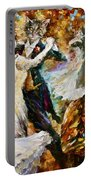 Dance Ball Of Cats  Portable Battery Charger by Leonid Afremov