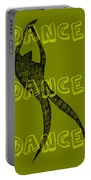 Dance Dance Dance Portable Battery Charger by Michelle Calkins