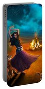 Dance Dervish Fox Portable Battery Charger by Aimee Stewart