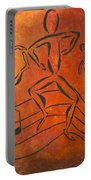 Dance Fever Portable Battery Charger by Pamela Allegretto