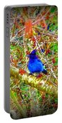 Dance Of Blue Jay Portable Battery Charger