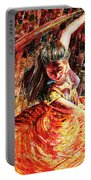 Dance Of Colors Portable Battery Charger