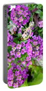 Dance Of Flowers Portable Battery Charger