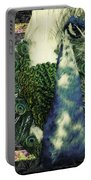 Dance Of The Peacock Portable Battery Charger