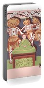 Dance Of The Skeleton Lords Portable Battery Charger