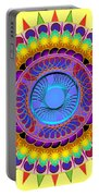 Dance Of The Sun Portable Battery Charger