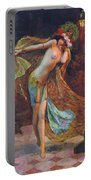 Dance Of The Veils Portable Battery Charger by Gaston Bussiere