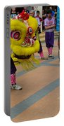 Dance Troupe Performs Chinese Lion Dance Singapore Portable Battery Charger