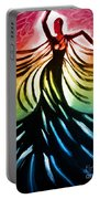 Dancer 3 Portable Battery Charger by Anita Lewis