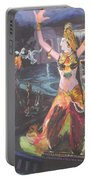 Dancer Laxmi Dancing On The Boat Portable Battery Charger
