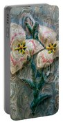 Dances With Flowers Portable Battery Charger