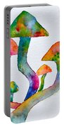 Dancing Cubensis Portable Battery Charger