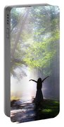 Dancing In God's Light Copyright Willadawn Photography Portable Battery Charger