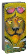 Dancing King Of The Serengeti Discotheque Portable Battery Charger