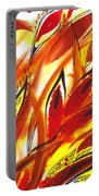 Dancing Lines Hot Abstract Portable Battery Charger