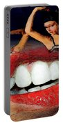 Dancing Lips Portable Battery Charger
