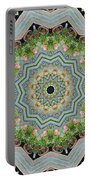 Dancing Mandevilla Blossom Kaleidoscope Portable Battery Charger