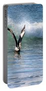 Dancing On The Waves Portable Battery Charger