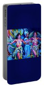 Dancing Panama Portable Battery Charger