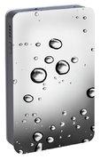 Dancing Raindrops Portable Battery Charger