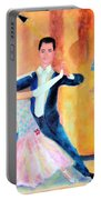 Dancing Through Time Portable Battery Charger