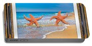 Dancing To The Beat Of The Sea Portable Battery Charger