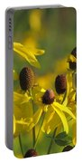 Dancing Wildflowers Portable Battery Charger