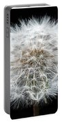 Dandelion Life Cycle Portable Battery Charger by Steve Gadomski