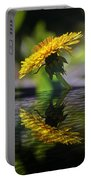 Dandelion Reflection Portable Battery Charger
