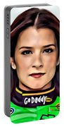 Danica Patrick Portable Battery Charger