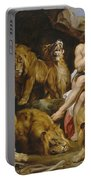 Daniel And The Lions Den Portable Battery Charger
