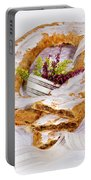 Danish Pastry Ring With Pecan Filling Portable Battery Charger