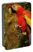 Danse Macaw Portable Battery Charger
