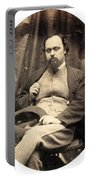 Dante Gabriel Rossetti English Poet Portable Battery Charger