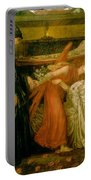 Dantes Dream At The Time Of The Death Of Beatrice 1856 Portable Battery Charger by Philip Ralley